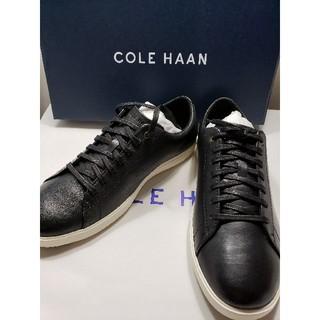 コールハーン(Cole Haan)のCOLE HAAN 新品レザースニーカー 24.5cm(スニーカー)