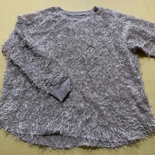 ジーユー(GU)のGU 新品 モヘア風トップス XL(カットソー(長袖/七分))