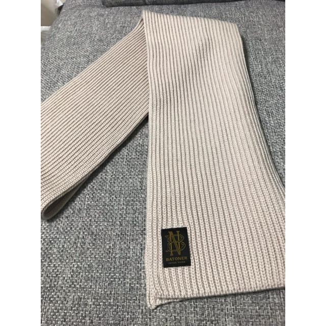 HARE(ハレ)のBatoner マフラー 白 ホワイト メンズのファッション小物(マフラー)の商品写真