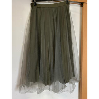 フレイアイディー(FRAY I.D)のフレイアイディー   チュールスカート(ロングスカート)