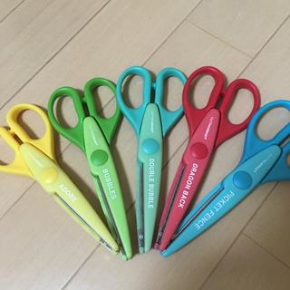 コストコ(コストコ)のクラフトはさみ 工作 スクラップブッグ作りに いろいろな線に切れるはさみ 6本(はさみ/カッター)