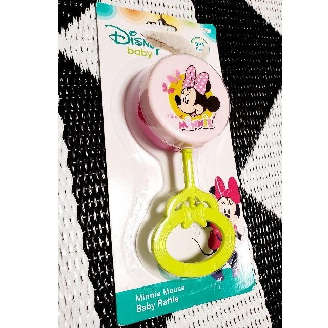 Disney(ディズニー)のDisneybaby ミニーチャン がらがら キッズ/ベビー/マタニティのおもちゃ(がらがら/ラトル)の商品写真