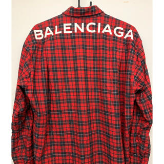 バレンシアガ(Balenciaga)の専用 バレンシアガ チェックシャツ 国内正規品 (シャツ)