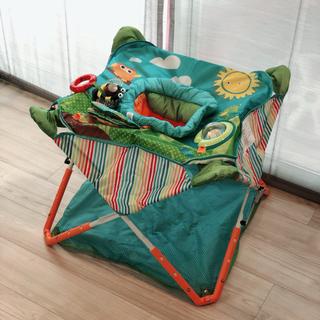 ニホンイクジ(日本育児)の日本育児 コンパクトにたためる ポップアップジャンパー 4つの楽しいおもちゃ付き(その他)