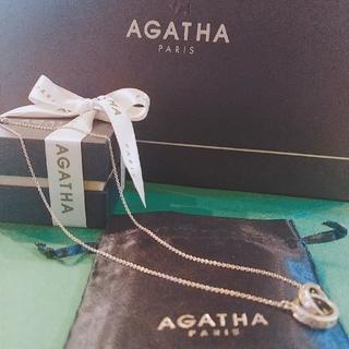 AGATHA - 土日セール アガタ 定番で1つは欲しいリングネックレス