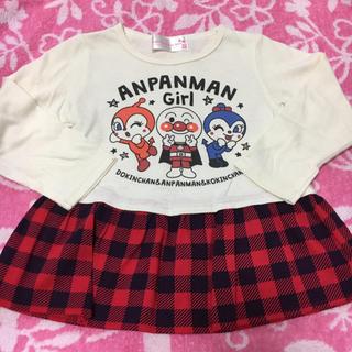 アンパンマン - アンパンマン★ロンT チュニック 女の子95cm