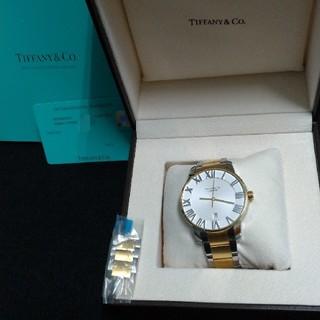ティファニー(Tiffany & Co.)のティファニー アトラスドーム 自動巻き K18ゴールド コンビ メンズ 送料無料(腕時計(アナログ))