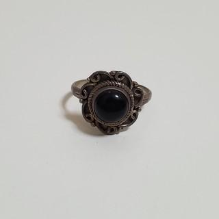 シルバーリング オニキス(リング(指輪))