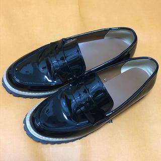 ジーユー(GU)のGUのプラットフォームローファー(ローファー/革靴)
