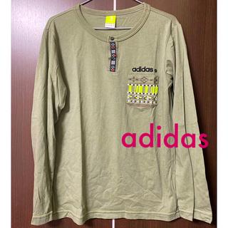 アディダス(adidas)のアディダス adidas 長袖 ポケット シャツ Mサイズ(Tシャツ/カットソー(七分/長袖))