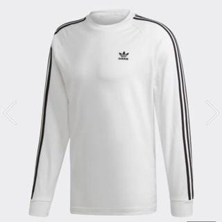 アディダス(adidas)のadidas originals 3ストライプ長袖Tシャツ(Tシャツ/カットソー(七分/長袖))
