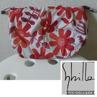 シビラ(Sybilla)の美品 シビラ☆化粧品 花柄 ポーチ(ポーチ)