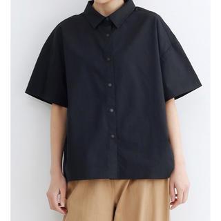 メルロー(merlot)のスナップボタンオーバーサイズシャツ(シャツ/ブラウス(半袖/袖なし))