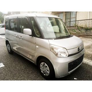 マツダ - H25年マツダフレアワゴンXG 4WD修復歴なしナビ・TV・バックカメラ付