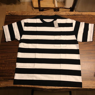 ムジルシリョウヒン(MUJI (無印良品))の【未使用】MUJI Labo ボーダー Tシャツ 無印良品(Tシャツ/カットソー(半袖/袖なし))