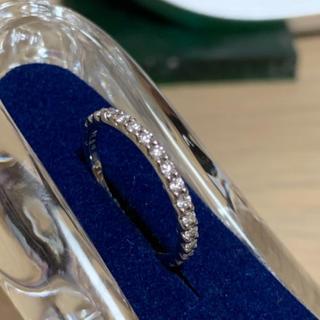 ディズニー(Disney)のエタニティリング ディズニー ダイヤモンド プラチナ リング(リング(指輪))