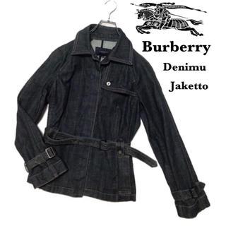 バーバリー(BURBERRY)のBURBERRY バーバリー レディース ジャケット 38(Gジャン/デニムジャケット)