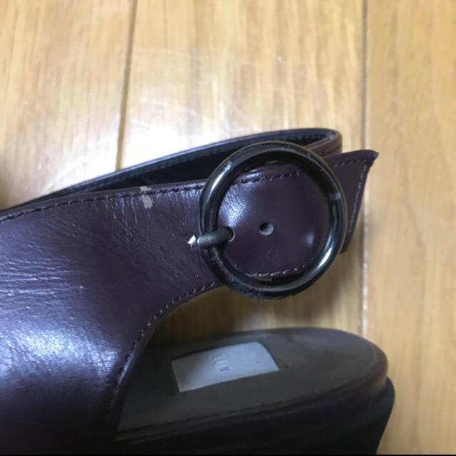 DEUXIEME CLASSE(ドゥーズィエムクラス)のELIN ムートンファーサンダル レディースの靴/シューズ(サンダル)の商品写真
