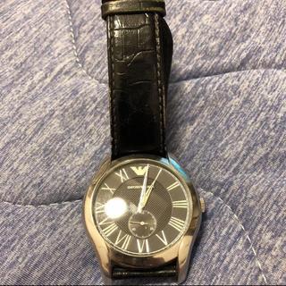 エンポリオアルマーニ(Emporio Armani)のメンズ 腕時計 アルマーニ(レザーベルト)