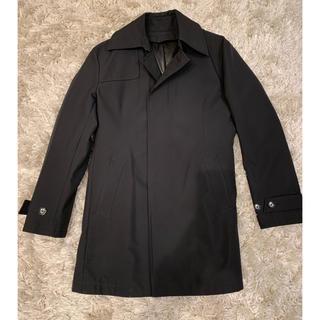 COMME CA MEN - コムサメン ステンカラーコート ブラック