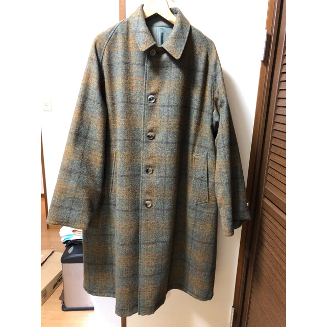 COMOLI(コモリ)のanatomica アナトミカ コート comoli auralee  メンズのジャケット/アウター(ステンカラーコート)の商品写真