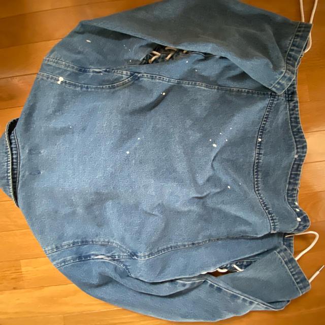 HALFMAN(ハーフマン)のHALFMAN ライダースデニムジャケット レディースのジャケット/アウター(Gジャン/デニムジャケット)の商品写真
