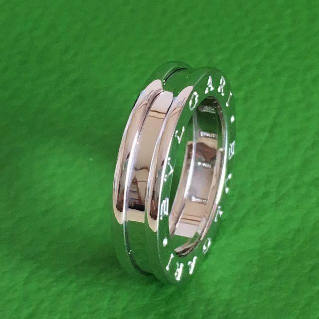 BVLGARI(ブルガリ)のブルガリ ビーゼロワン リング B-ZERO1 1band #50指輪 K18 レディースのアクセサリー(リング(指輪))の商品写真