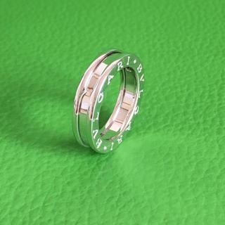 ブルガリ(BVLGARI)のブルガリ ビーゼロワン リング B-ZERO1 1band #50指輪 K18(リング(指輪))