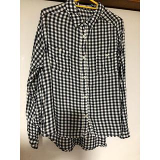 ジエンポリアム(THE EMPORIUM)のチェックシャツ Mサイズ(シャツ/ブラウス(長袖/七分))
