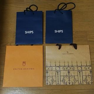 シップス(SHIPS)の紙袋 ショップ袋 ショッパー SHIPS(ショップ袋)