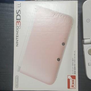 ニンテンドー3DS(ニンテンドー3DS)の中古3DS ピンクホワイト 本体のみ(携帯用ゲーム機本体)