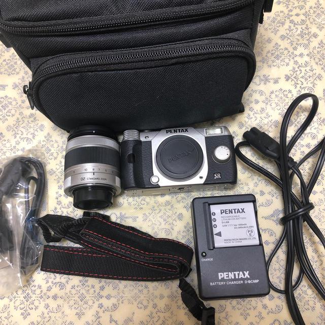 PENTAX(ペンタックス)のPENTAX Q10 ミラーレス一眼 02 ズームレンズ キット  スマホ/家電/カメラのカメラ(ミラーレス一眼)の商品写真