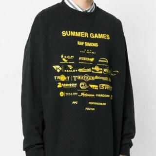 RAF SIMONS - RAF SIMONS summer games トレーナー