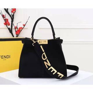フェンディ(FENDI)のフェンティ ファッション 手提げ袋 ブラック  未使用 新品(トートバッグ)