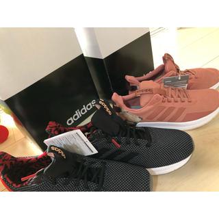 アディダス(adidas)のadidas スニーカー 24cm ピンク(スニーカー)