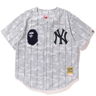 アベイシングエイプ(A BATHING APE)のbape mitchell ness new york yankees 2XL(Tシャツ/カットソー(半袖/袖なし))