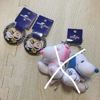 ユニバーサルスタジオジャパン(USJ)のUSJ♥️新品 スヌーピー セット(キャラクターグッズ)