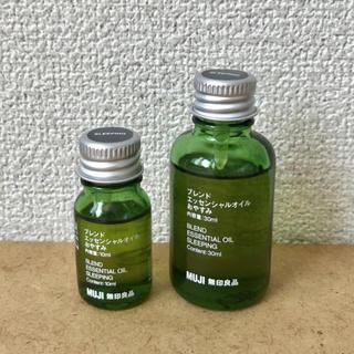 ムジルシリョウヒン(MUJI (無印良品))のブレンドエッセンシャルオイル おやすみ10ml(エッセンシャルオイル(精油))