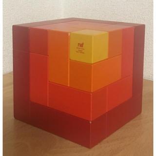 ネフ(Neaf)の専用出品 ネフ社 キュービックス 赤 木のおもちゃ(積み木/ブロック)