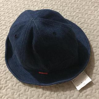 サマンサモスモス(SM2)の【新品未使用】キッズ  ハット  帽子(帽子)