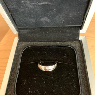 イーノス ホワイトゴールド ダイヤモンドリング(リング(指輪))