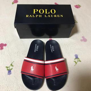 ポロラルフローレン(POLO RALPH LAUREN)の新品 ポロ ラルフローレン サンダル 23(サンダル)