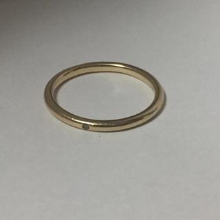 ココシュニック(COCOSHNIK)の ココシュニック  8号 K10 イエローゴールド リング(リング(指輪))