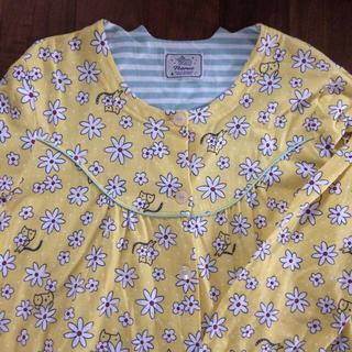 ナルエー(narue)のnarue ナルエー 前あきパジャマ マタニティパジャマ 入院パジャマ 美品(ルームウェア)