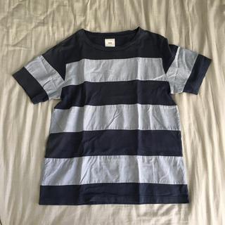 エンジニアードガーメンツ(Engineered Garments)のts(s) ボーダーTシャツ(Tシャツ/カットソー(半袖/袖なし))