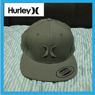 ハーレー(Hurley)のハーレー キャップ グレー フリーサイズ 美品(キャップ)