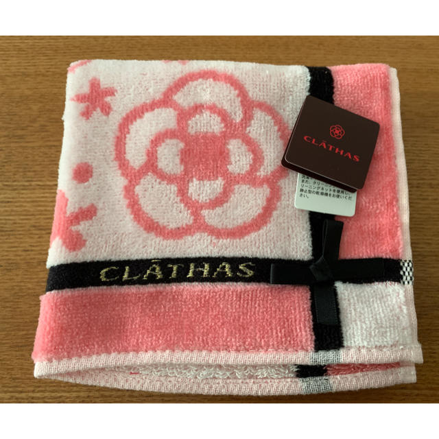 CLATHAS(クレイサス)のクレイサス タオルハンカチ レディースのファッション小物(ハンカチ)の商品写真