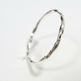 【13号】ウェーブリング(シルバー)指輪 (リング(指輪))