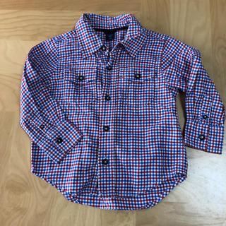 ベビーギャップ(babyGAP)のチェックシャツ GAP(ブラウス)