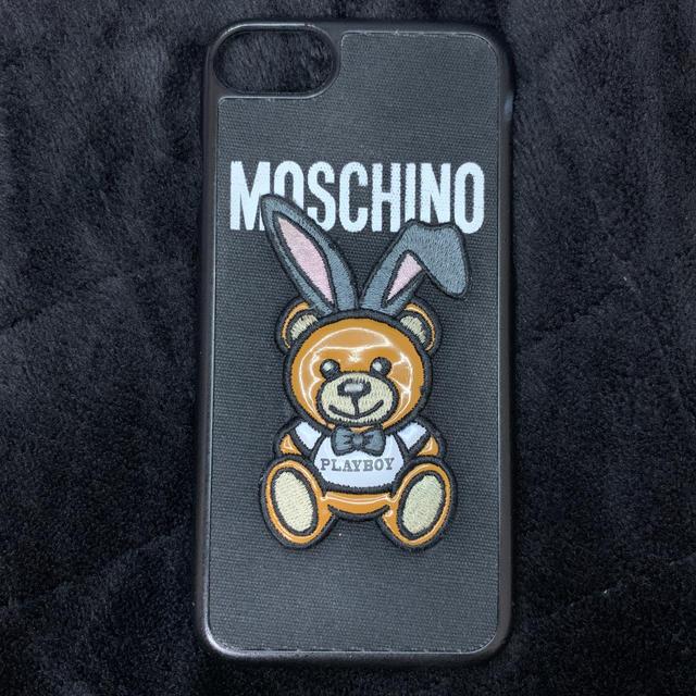 MOSCHINO - 美品☆MOSCHINO×PLAYBOYコラボ iPhone7ケースの通販